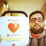 Defibrillator 10