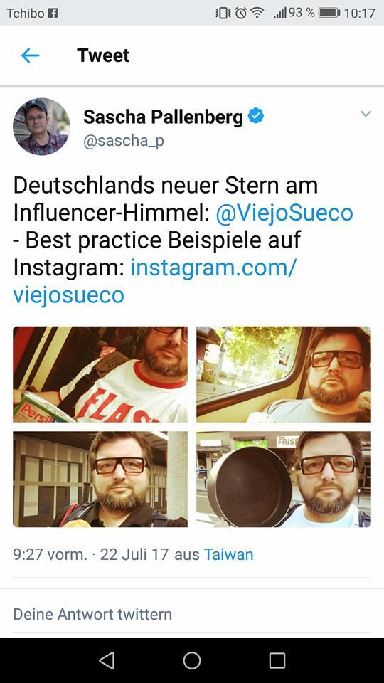 Sascha Pallenberg Twitter Story